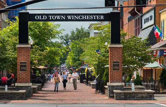 Old Town Winchester Walking Mall