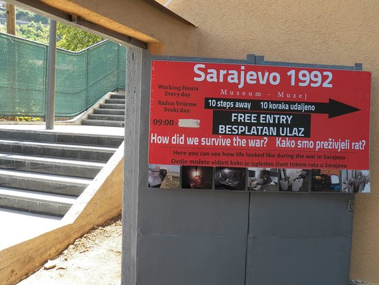 War Museum - Ratni muzej Sarajevo 1992 Entrance Photo #6