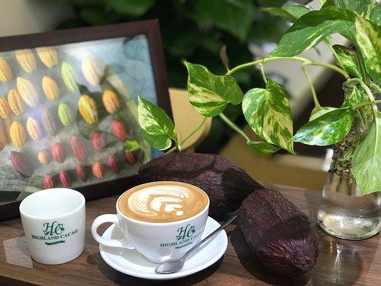 Highland Cacao: Cappucino