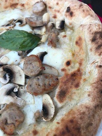 Valgte pizza på første besøket vårt.