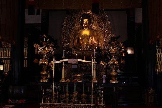 Intérieur d'un temple