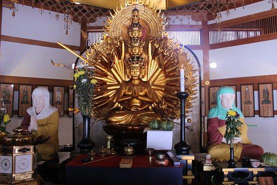Dans un temple