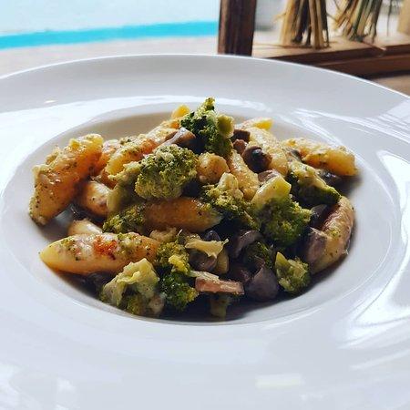 Schupfnudeln mit Brokkoli & Pilze