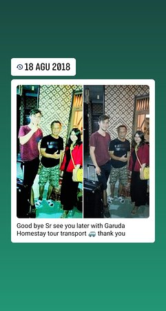 GARUDA HOMESTAY stay transpot tour
