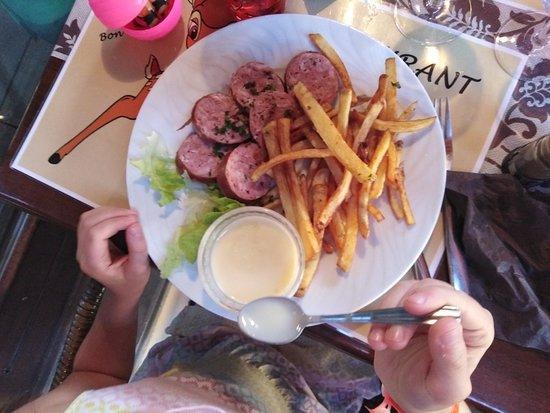 Le goût est là en plus de la quantité pour des prix plus de correcte menus +/_20€