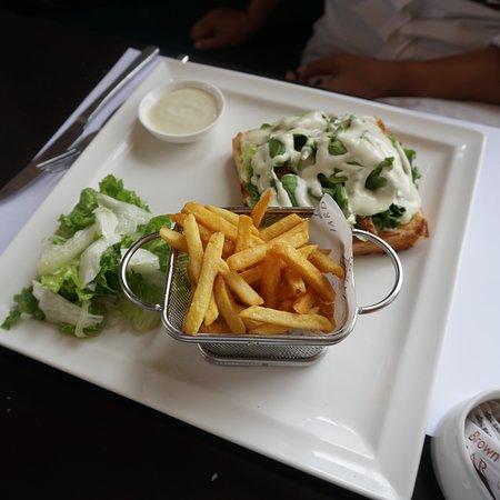 The wonderful food at Jardin