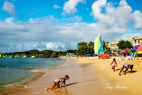 St. Lucia: Reduit Bay