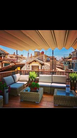 Our Lovely and Relaxing Roof Terrace