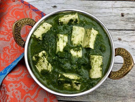 Samudra NYC Restaurant: Vegetarian & Non-Vegetarian: Saag Paneer or Palak Paneer
