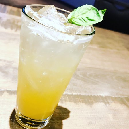 *** Madd Crush ***  Fall in love with this Cocktail.  gin, lillet, peach puree, fresh lemon, basil