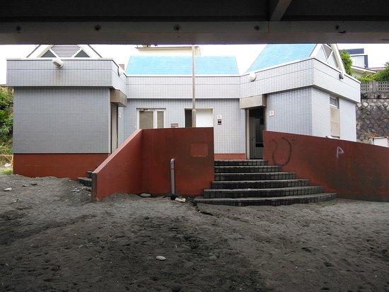御幸の浜海水浴場, トイレ