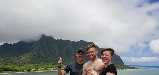 Perfect kayaking trip to Chinaman's Hat!