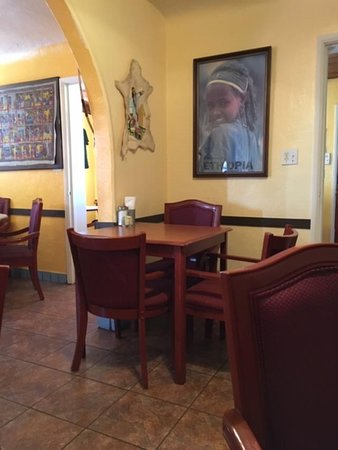 Zemam's: the main dining area