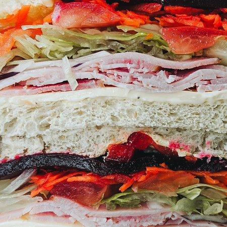 Albany Creek, Αυστραλία: Freshly Made Sandwiches