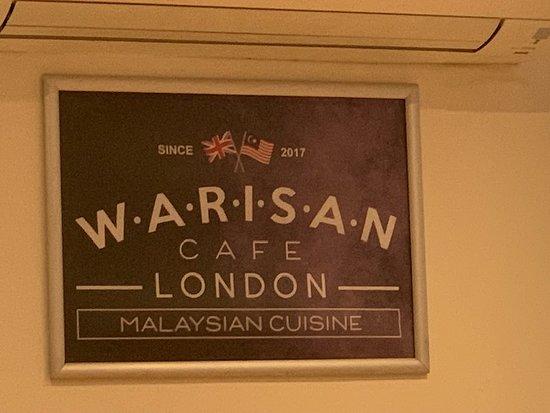 Warisan Cafe: Warisan Cafe 190 Sussex W2 Garden Garden W2 1TU
