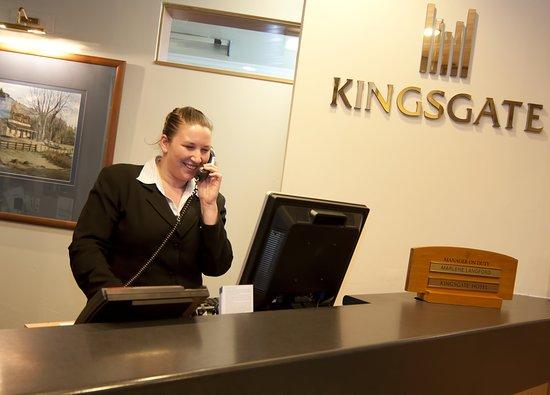 Kingsgate Hotel Dunedin: Lobby