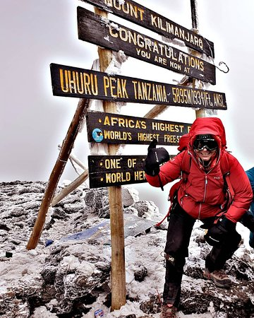 The roof of Africa- Mt Kilimanjaro Welcome to HFO Brothers Tours & Safaris Book with us through:info@hfobrothers.co Visit our website: www.hfobrothers.com