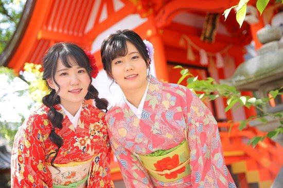 Rental Kimono Rose