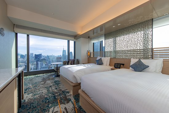 THE BLOSSOM HIBIYA: Deluxe Twin Room