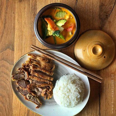Curry mit Ente