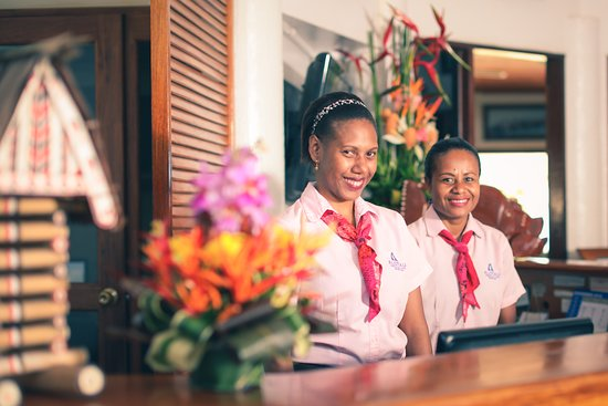 Alotau International Hotel: Our Friendly Associates