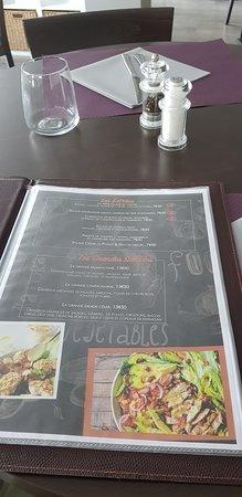 Plancha et Cie: Notre menu, les entrées, les salades