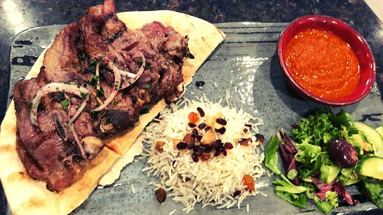 Dishes available at Mesopotamia Dundee. Specialists in Mediterranean and Middle Eastern cuisine