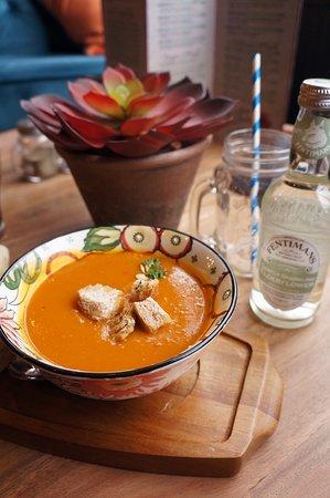 Delicious homemade soups