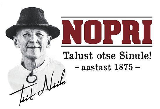 Misso, Estland: Nopri - From farm to you! Since 1875!