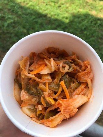 Veganské kimchi