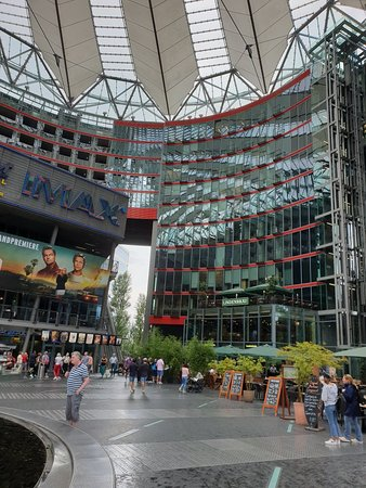 Sony Center: Great place to visit