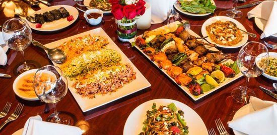 Authentic Iranian cuisine