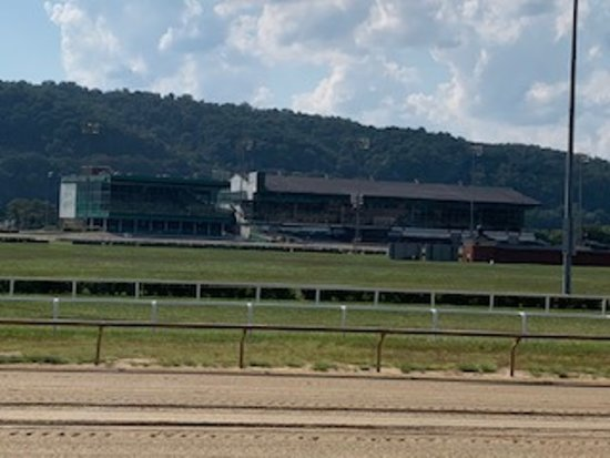 Race track for horses