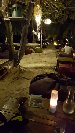 Perfect ambiance on the beach