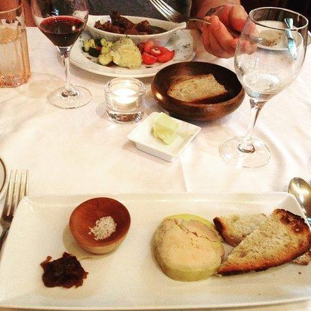 Foie gras délicieux!