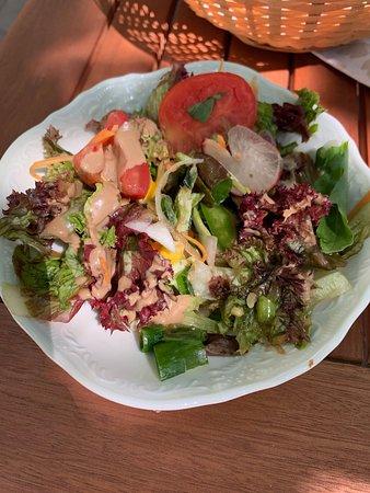 Mayerling, Austria: Green salad