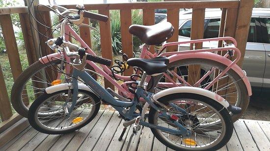 Vélos français de marque Arcade estampillés Beach Bikes