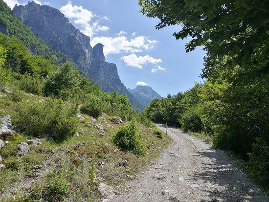 Gusinje, มอนเตเนโกร: Prokletije Mountains