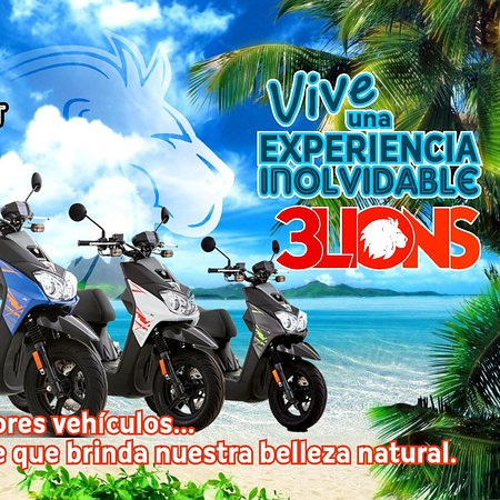 renta-scooters-motos 3lions san andres