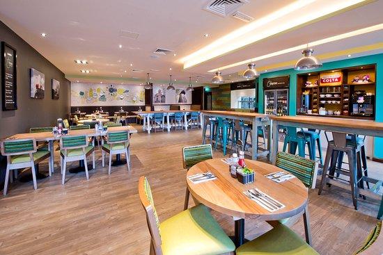 Thyme restaurant interior