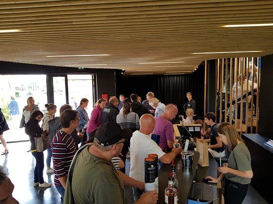 Distillerie Warenghem: Le groupe de visiteurs...