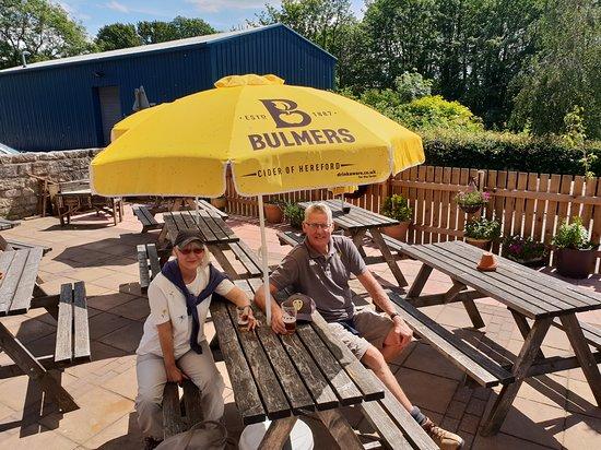 Bozza Fodder: Anchor Inn Beer Garden