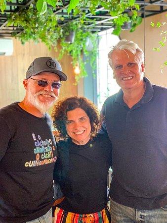 Arnaldo Motta, Rēbu Chef Duca Lapenda e a Chef Brasileira @flavinhaquaresma.