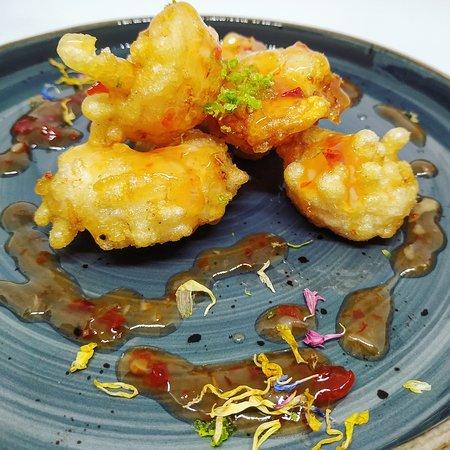 Sweet Chilli Shrimps