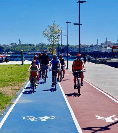 Stress free bike paths