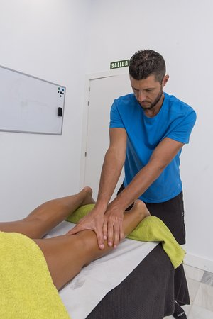 legs massage - anti pain or only relax. hit global playa de las americas