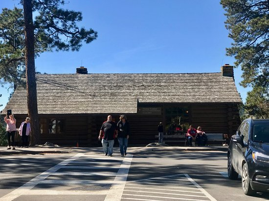 Outside the Visitor's Center