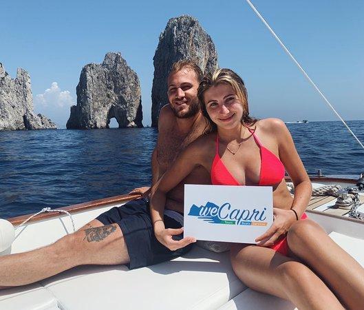 جزيرة كابري, إيطاليا: We Capri