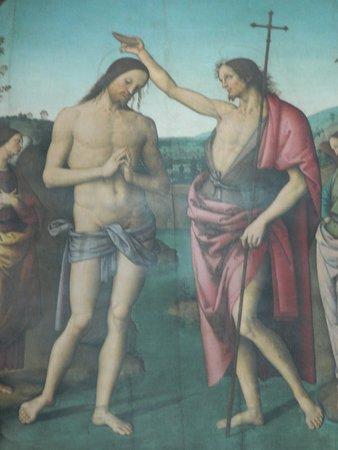 Battesimo di Gesù del Perugino