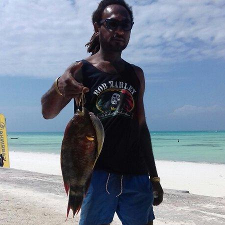 Zanzibar, Tanzania: Pesce fresco per cena...